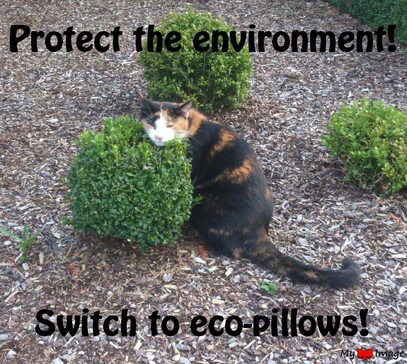 Go green, protect the environment!